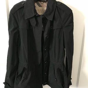 Burberry Peplum Lightweight Coat
